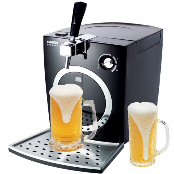 Bierkühler Zapfanlage Bierzapfanlage mit Kühlung 5 Liter Garten Durchlaufkühler