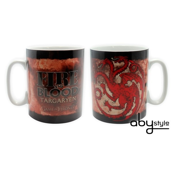 GAME OF THRONES Haus Targaryen Kaffeetasse