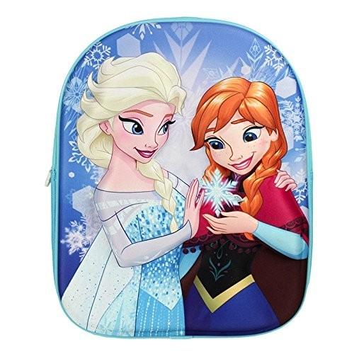 Disney Frozen Die Eiskönigin - 3D Rucksack Anna & Elsa