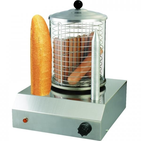 Hot Dog Maker Würstchenwärmer Bockwurstwärmer Spießtoaster Wurstkocher