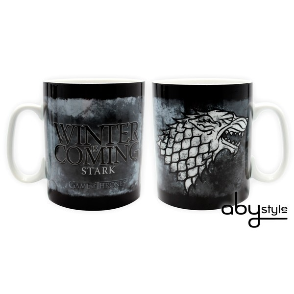 GAME OF THRONES Haus Stark Kaffeetasse