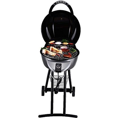 Elektrogrill Grillwagen Barbecue BBQ Grill Balkongrill Standgrill