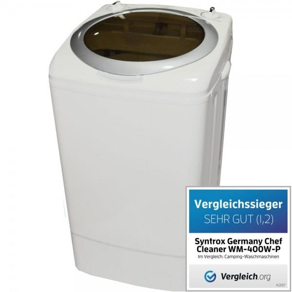 Toplader Schleuder Single Camping Kleine Klein Mini Waschmaschine 400W