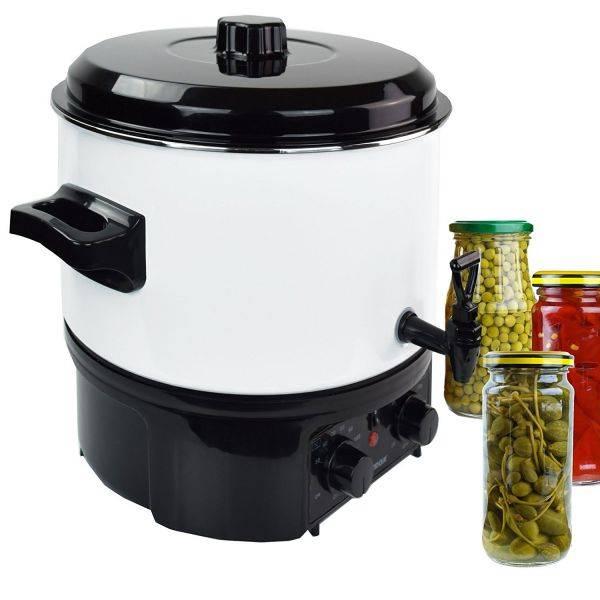 Einkochautomat Glühweinkocher 20 Liter mit Hahn