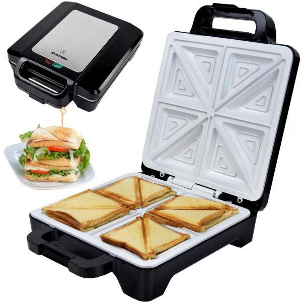 Sandwichmaker mit Keramikplatten Thermostat