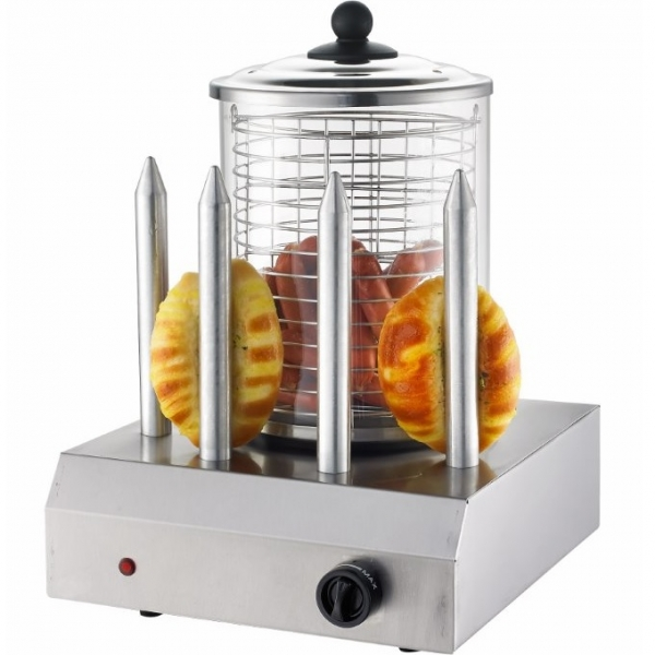 Hot Dog Maker Gerät Erhitzer Wurstkocher Würstchenwärmer Bockwurstwärmer