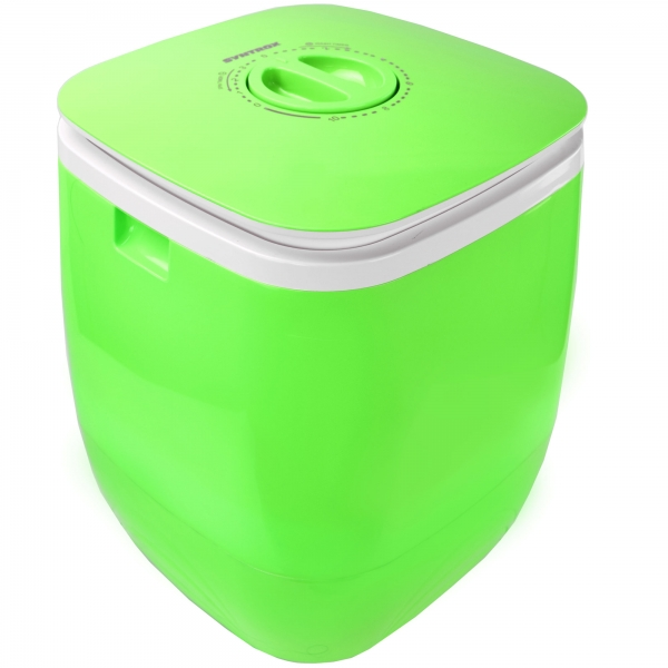 Toplader Schleuder Single Camping Kleine Klein Mini Waschmaschine 150W grün